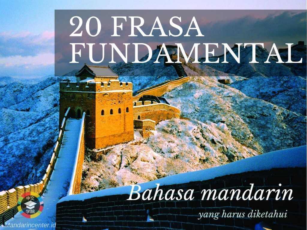 20 Frasa Fundamental Bahasa Mandarin Yang Harus Kamu Tahu (Tembok Besar China)