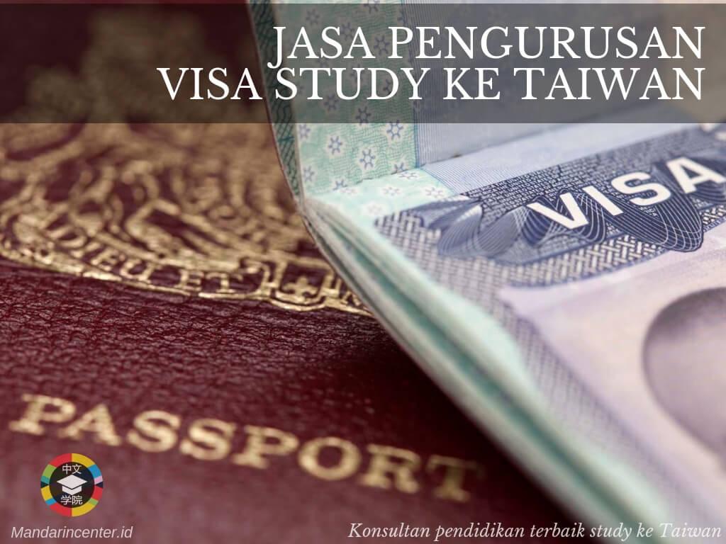 Jasa Pengurusan Visa Taiwan Untuk Pelajar