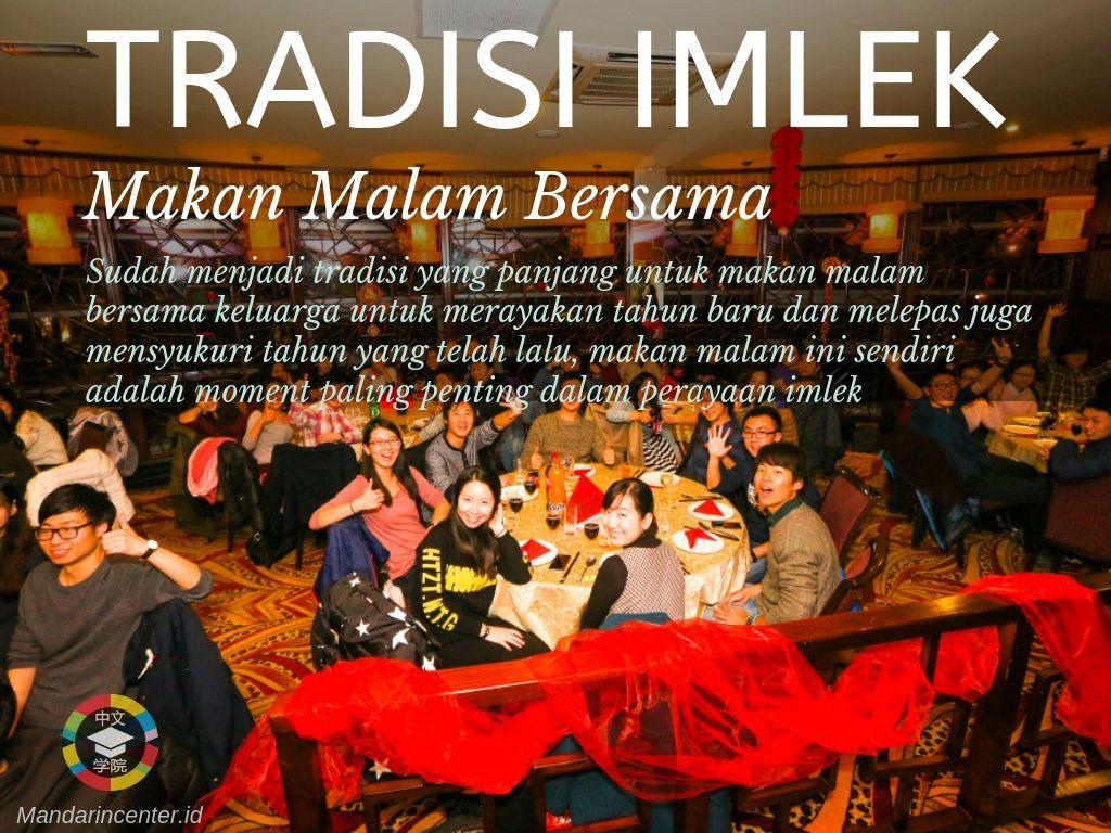 Tradisi Imlek - Budaya Makan Malam Bersama Keluarga Di Malam Imlek
