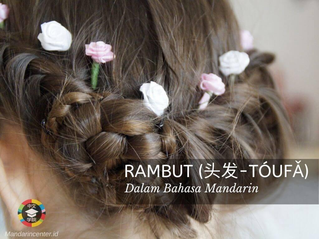 Rambut Dalam Bahasa Mandarin - Anggota Tubuh Dalam Bahasa Mandarin